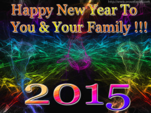 2015 Happy New Year Wishes Wallpaper Greeting Card Image Picture
