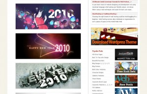 free new year 2010 wallpapers, collection of wallpapers from different sites