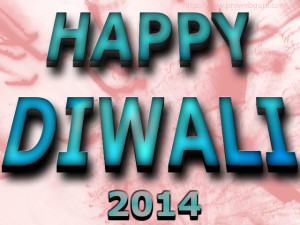 3D Latest Happy Diwali 2014 Wallpaper Free. Happy Diwali 3D greeting card.