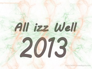 All izz Well 2013 wallpaper