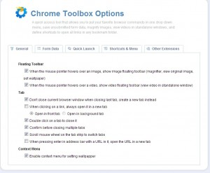 Chrome ToolBox Extension