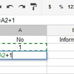 Google Spreadsheet Drag and Increase Numbers