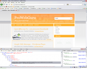 Firebug Firefox Extension