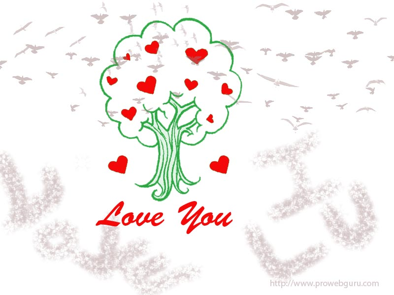 Handcreated Valentine Love Wallpapers 2013