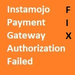 Fix for Instamojo Payment Gateway Failed Error