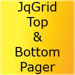 Show Top & Bottom Pager For Pagination In JqGrid