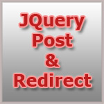 Jquery send post data and redirect
