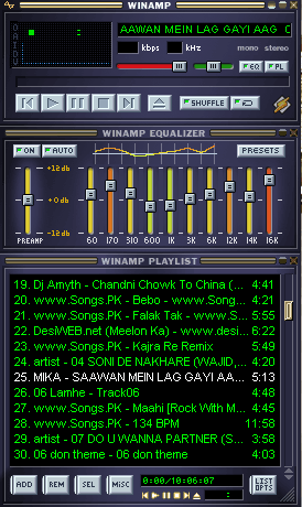 Winamp - Free Mp3 player