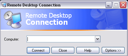 Windows XP Remote Desktop Full Screen Problem and Solution